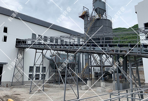 1000T/H机制砂生产线现场
